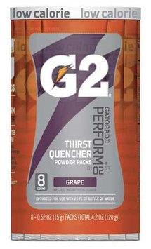 GATORADE 131673 Sports Drink Mix, Grape, PK8
