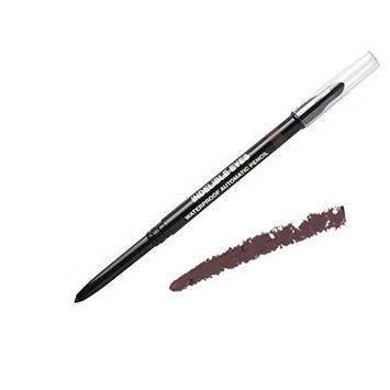 Indelible Eyes Smooth Waterproof Gel Eyeliner - BROWN STONE - Smudge proof - Ultra Smooth - Super Easy - Long lasting - Blender tip - Longwear - no sharpener needed - Retractable - Slim-line Pencil