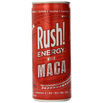 Rush! Energy with Maca, 24 Count (Pack of 24)