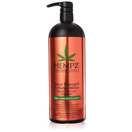 Hempz Sweet Pineapple and Honey Melon Herbal Volumizing Conditioner, 33 Ounce