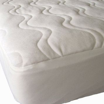 Weft-tex 40-Winks Omni Plush Quilted Organic Cotton Mattress Pad Cover