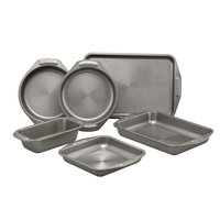 Circulon 6-Piece Non-Stick Bakeware Set, Gray