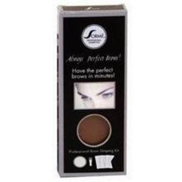 Sorme' Treatment Cosmetics Always Perfect Brows, Soft Smoke, 0.12 oz.