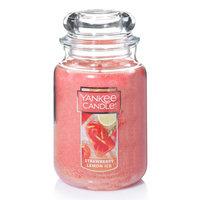 Yankee Candle Strawberry Lemon Ice 22-oz. Candle Jar, Pink