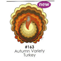 Autumn Variety Turkey Cake Decoration Edible Frosting Photo Sheet