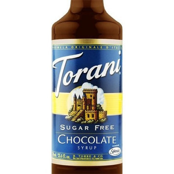 Torani Sugar Free Chocolate Syrup 3 bottles of 750 ml