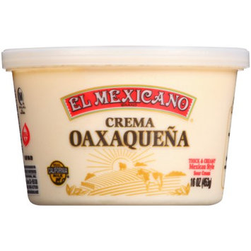 Marquez Brothers International, Inc. El Mexicano® Crema Oaxaqueña Sour Cream, 16 oz