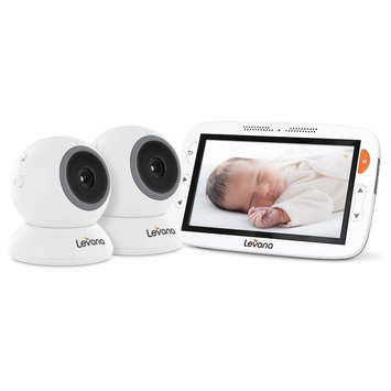 Levana Alexa 5 Inch Video Baby Monitor with 2 Cameras