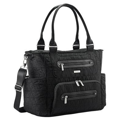 JJ Cole® Stitch Caprice Diaper Bag in Black