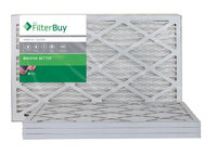 AFB Silver MERV 8 12x26x1 Pleated AC Furnace Air Filter. Filters. 100% produced in the USA. (Pack of 4)