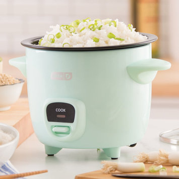 Dash Mini Rice Cooker, Blue