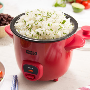Dash Mini Rice Cooker, Red