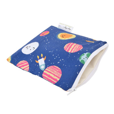 Itzy Ritzy Snack Happens Reusable Snack and Everything Bag Interstellar - Itzy Ritzy Diaper Bags & Accessories