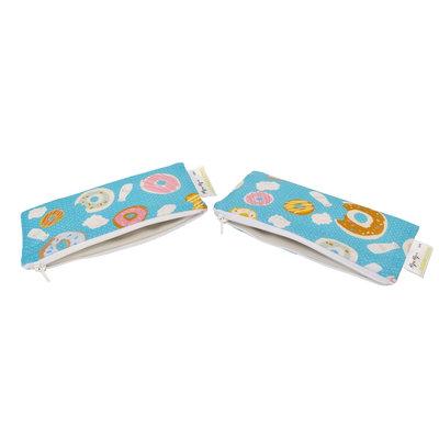 Itzy Ritzy Snack Happens Mini Bag, 2-Pack Donut Shop - Itzy Ritzy Diaper Bags & Accessories