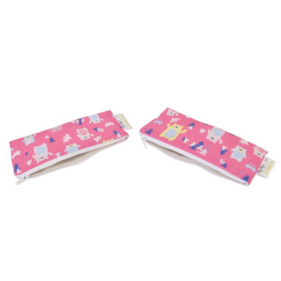 Itzy Ritzy Snack Happens Mini Bag, 2-Pack Forest Friends - Itzy Ritzy Diaper Bags & Accessories