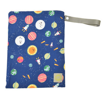 Itzy Ritzy Travel Happens Sealed Wet Bag with Handle Interstellar - Itzy Ritzy Diaper Bags & Accessories