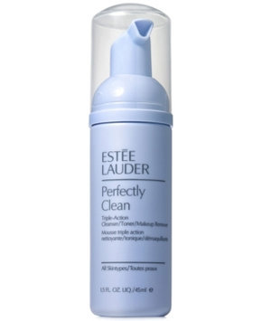 Estee Lauder Perfectly Clean Triple-Action Cleanser/Toner/Makeup Remover, 1.5 oz