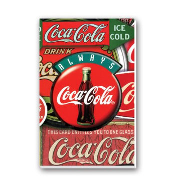 Springbok Coca-Cola Classics Bridge Tally Sheets Playing Cards Accessory