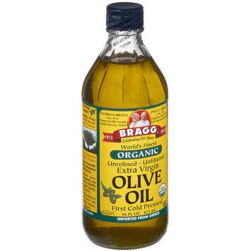 Bragg Olive Oil, Extra Virgin, Organic, 16 FL OZ (Pack of 12)