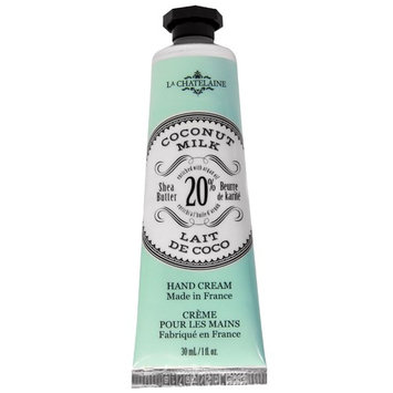 La Chatelaine, Hand Cream, Coconut Milk, 1 fl oz (30 ml) [Scent : Coconut Mil]