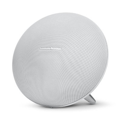 HARMAN KARDON Onyx Studio 3 Portable Bluetooth speaker with rechargeable battery and built-in microphone - White