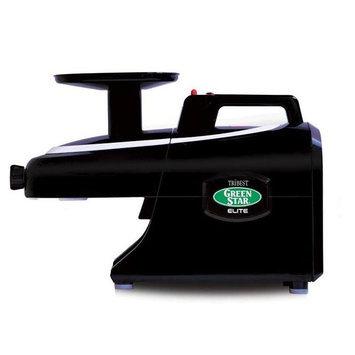 Tribest GSE-5010 Greenstar Elite Jumbo Twin Gear Masticating Juicer in Black