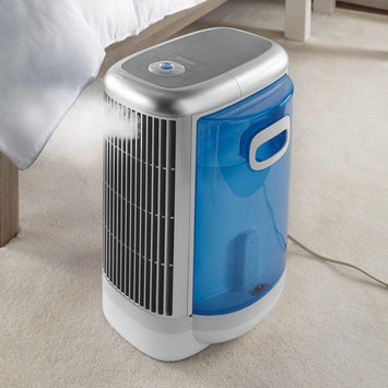 Brookstone Pure-Ion Bedroom™ Air Purifier and Humidifier