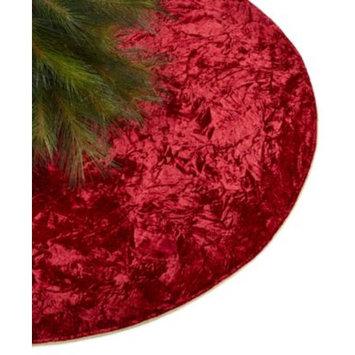 Red Velvet Tree Skirt, Created for Macy's
