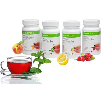 Herbalife Thermojetics Herba, Lose Weight Fasterl Tea Beverage 50gm (Peach) - For Inch Loss