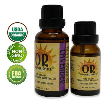 Organic Relief - Organic Lavender Essential Oil 30ml