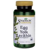 Swanson Egg Yolk Lecithin 60 Caps