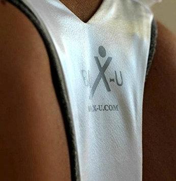 BaX-u Back Brace & Posture Support - White Extra Small