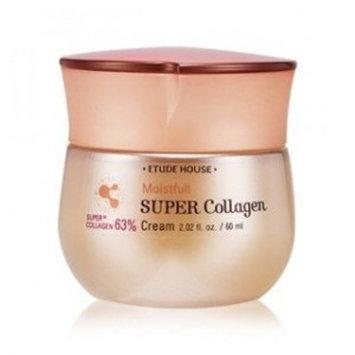 ETUDE HOUSE Moistfull Collagen Cream, Soft Moist Gel Type Moisturizing Facial Cream, 63.4% Super Collagen Water & Bobab Water Makes Skin Plumpy with Long Lasting Moist, 2.53 Fl Oz