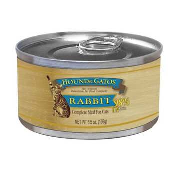 Hound and Gatos American Rabbit Canned Cat Food