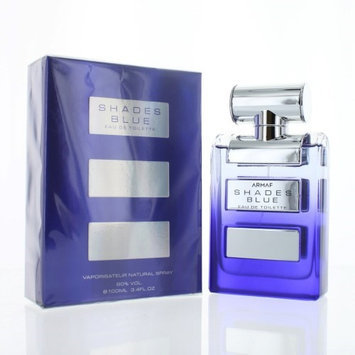 Shades Blue ZZMSHADESBLUE34EDTSP 3.4 oz Eau De Toilette Spray for Men