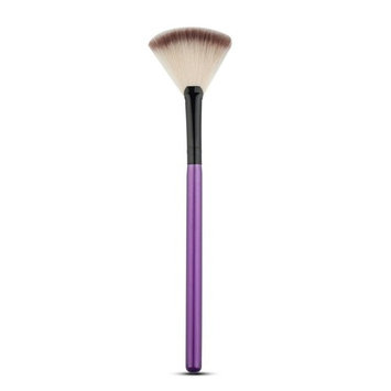 Hot Sale!Fan Brush,Canserin Portable Slim Professional Makeup Brushes (Purple)