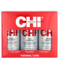 Gracefulbeauty Treatment, CHI Silk Infusion, CHI Infra Shampoo