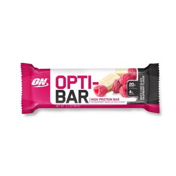 Optimum Nutrition Opti-Bar - 1 Bar White Chocolate Raspberry