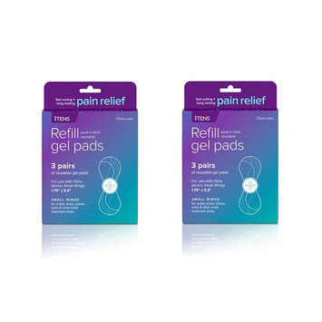 Zing Anything Llc Replacement Gel Pads for iTENS Wireless Electrotherapy Device - 2 Pack