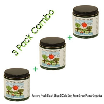 3 Jar Pack of Nature's Blessings Hair Pomade (Factory Fresh Batch Guaranteed)