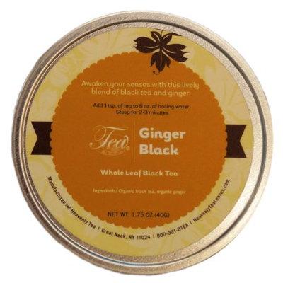 Heavenly Tea Inc. Heavenly Tea Leaves Ginger Black Loose Leaf Tea Canister, 1.75 oz.