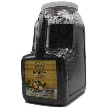 Gel Spice Whole Poppy Seeds - 6 Pound - Great for Baking and Toppings
