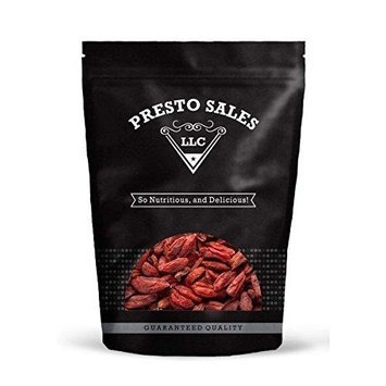 Goji Berries - No Sugar Added, (1 lb.) By Presto Sales LLC