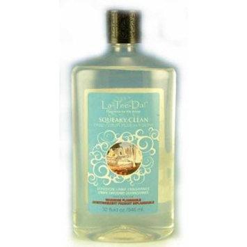 La-Tee-Da Effusion and Fragrance Lamp Oil Refills - 32 oz - SQUEAKY CLEAN