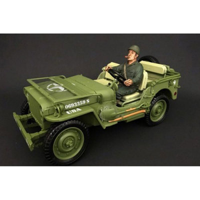 American Diorama 77413 1 by 18 Scale US Army WWII Figure IV