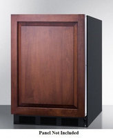 Summit AL752BBIIF 5.5 Cu. Ft. Custom Panel Undercounter Compact Refrigerator