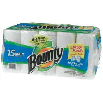 Bounty Paper Towels, Select-a-Size, 15-Count Package