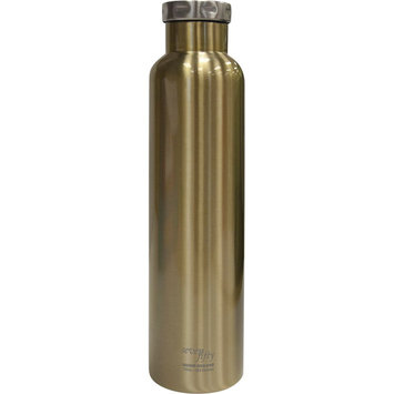 Fifty Fifty Fifty/Fifty Vacuum-Insulated Wine Growler - 750mL - Champagne Gold