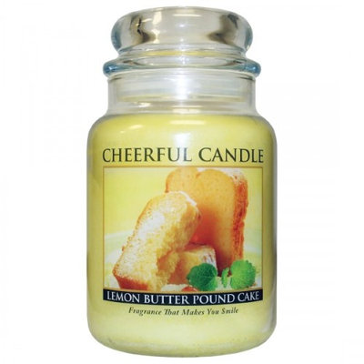 A Cheerful Candle CC113 LEMON BUTTER POUND CAKE 24OZ - Pack of 2