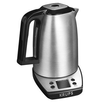 Krups Savoy Stainless Steel Electronic Kettle with Adjustable Temperature, Multicolor